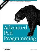 Advanced Perl Programming 2e