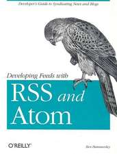Developing Feeds with RSS amd Atom