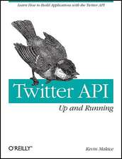 Twitter API – Up and Running
