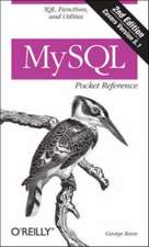 MySQL Pocket Reference 2e