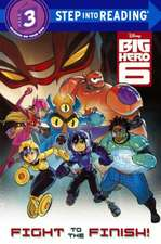 Big Hero 6:  Fight to the Finish