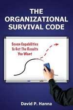 The Organizational Survival Code