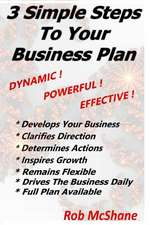 3 Simple Steps to Your Business Plan