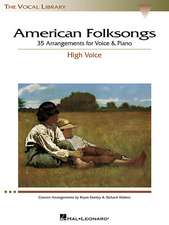 American Folksongs:  The Vocal Library High Voice