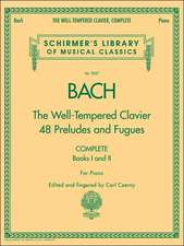 The Well-Tempered Clavier, Complete: Schirmer Library of Classics Volume 2057