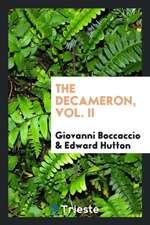 The Decameron, Vol. II