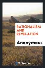 Rationalism and revelation