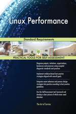 Linux Performance Standard Requirements