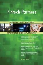 Fintech Partners A Complete Guide - 2020 Edition