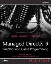 Managed DirectX 9 Kick Start