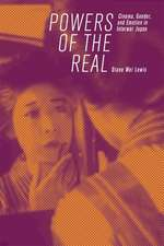 Powers of the Real – Cinema, Gender, and Emotion in Interwar Japan