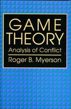 Game Theory – Analysis of Conflict (Paper) (OISC)