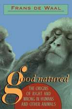 Good Natured – The Origins of Right & Wrong in Humans & Other Animals (Paper)