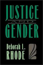 Justice and Gender (Paper)