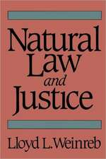 Natural Law & Justice (Paper)