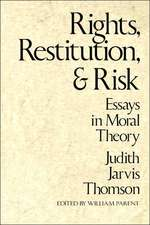 Rights Restitution & Risk – Essays in Moral Theroy  (Paper)