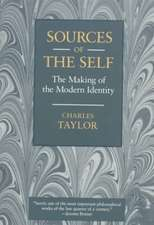 Sources of the Self – The Making of the Modern Identity (Paper)