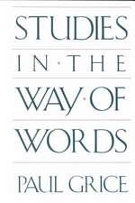 Studies in the Way of Words (Paper)