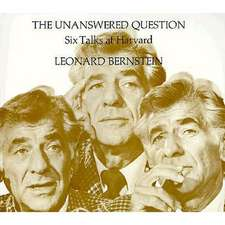 The Unanswered Question – Six Talks at Harvard (Paper) (Does not include Records)