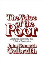 The Voice of the Poor – Essays in Economic & Political Persuasion (Paper)