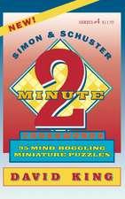 SIMON & SCHUSTER TWO-MINUTE CROSSWORDS Vol. 4