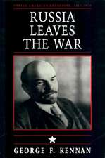 Soviet–American Relations, 1917–1920, Volume I – Russia Leaves the War