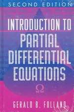 Introduction to Partial Differential Equations – Second Edition