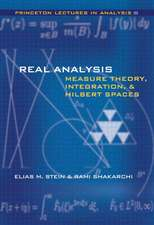 Real Analysis – Measure Theory, Integration, and Hilbert Spaces