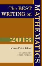 The Best Writing on Mathematics 2013