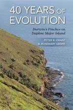 40 Years of Evolution – Darwin`s Finches on Daphne Major Island