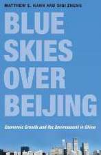 Blue Skies over Beijing – Economic Growth and the Environment in China
