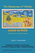 The Ramayana of Valmiki – An Epic of Ancient India Volume V – Sundarakanda