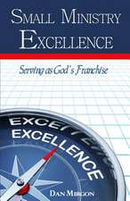 Small Ministry Excellence