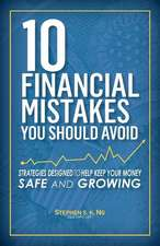 10 Financial Mistakes You Should Avoid