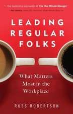 Leading Regular Folks