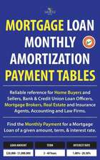 Mortgage Loan Monthly Amortization Payment Tables