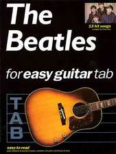 The Beatles For Easy Guitar Tablature