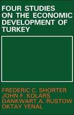 Four Studies on the Economic Development of Turkey