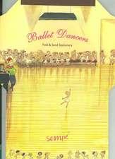 Sempe; Ballet Dancers Fold & Send Stationery