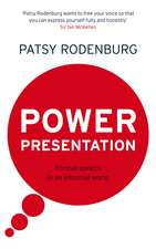 Power Presentation: Formal Speech in an Informal World