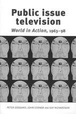 Goddard, P: Public Issue Television