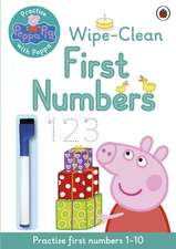 Peppa Pig, Practise with Peppa, Wipe-Clean Numbers