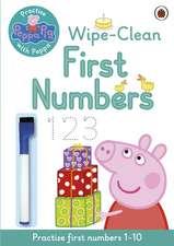 Peppa Pig, Practise with Peppa, Wipe-Clean Numbers