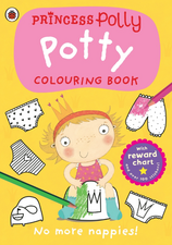 Princess Polly: Potty Colouring Book