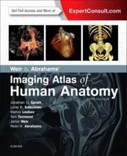 Atlas de anatomie umană Weir & Abrahams':  Imaging Atlas of Human Anatomy