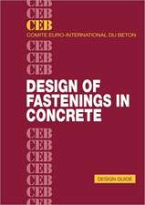 Design of Fastenings in Concrete