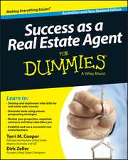 Success as a Real Estate Agent for Dummies – Australia / NZ