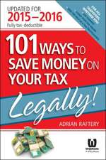 101 Ways To Save Money On Your Tax – Legally! 2015–2016