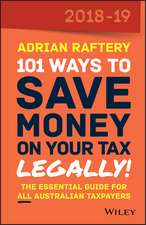 101 Ways To Save Money on Your Tax – Legally! 2018–2019