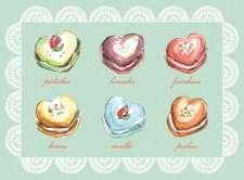 Macaroon Everyday Embellished Notecards:  List Pad
